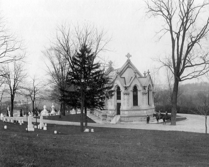 St. Henry's Memorial Chapel at Calvary Cemetery was dedicated in 1903. The chapel was built to honor the unclaimed dead at St. Henry's Cemetery in Dayton that were reinterred at Calvary Cemetery. FILE PHOTO