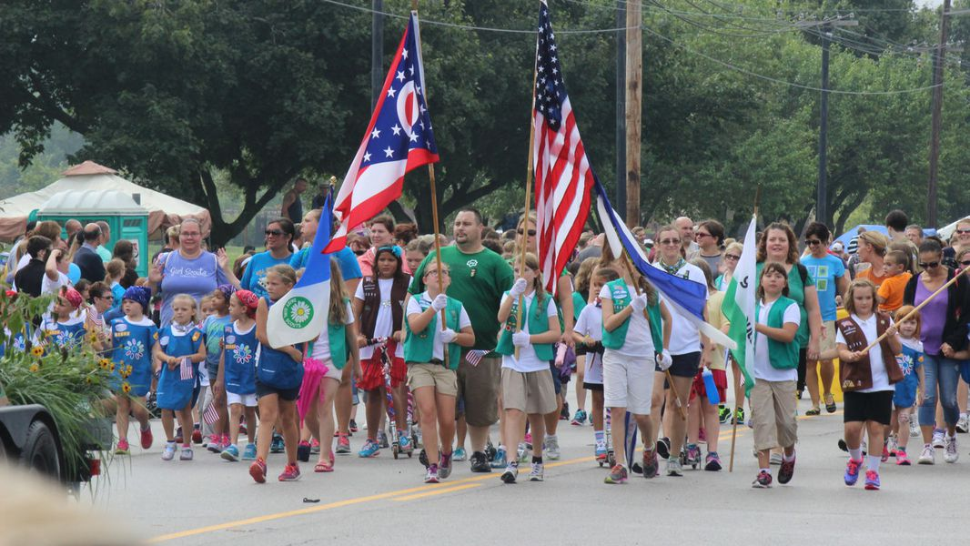 Labor Day 2019: Holiday at Home parade in Kettering